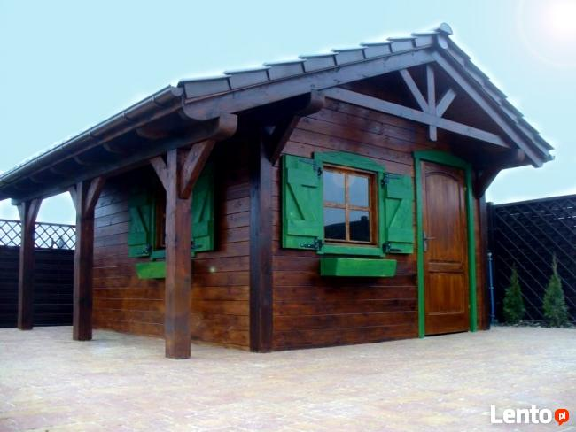 Domy z drewna, szkieletowe, całoroczne, letniskowe