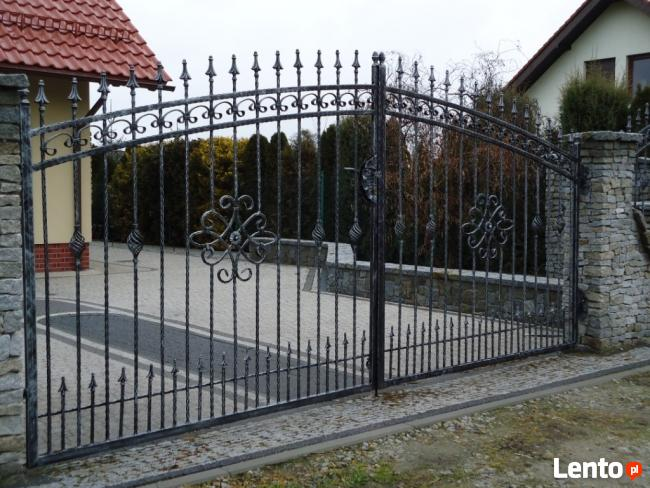 ogrodzenia kute balustrady kute balustrady nierdzewne bramy