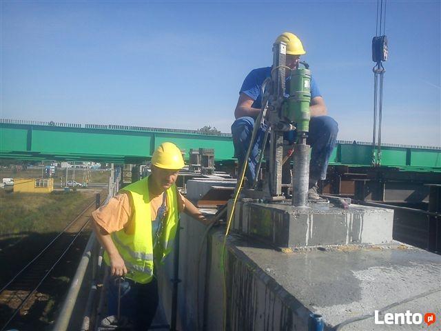 Cięcie Betonu, Wiercenie w betonie BYDGOSZCZ Tel.500213249
