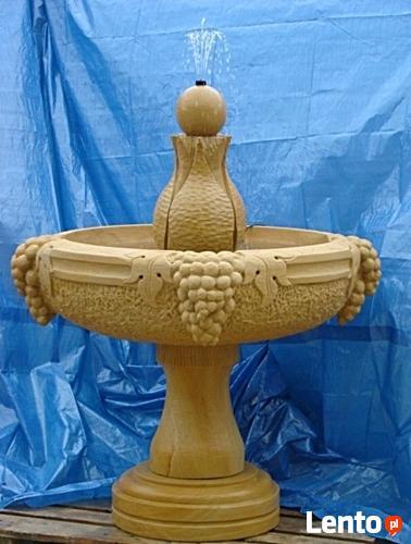 Duży wybór fontann ogrodowych z kamienia , piaskowca