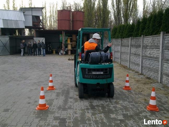 Kurs na wózki widłowe w Olsztynie