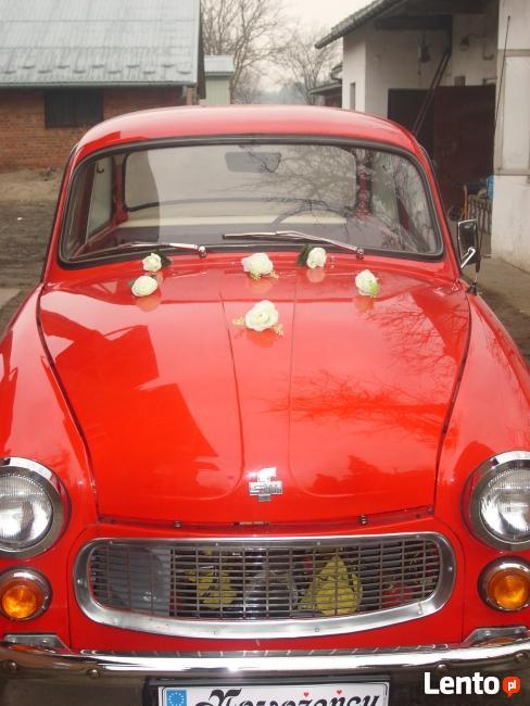 Auto do ślubu -zabytkowa warszawa lub syrena