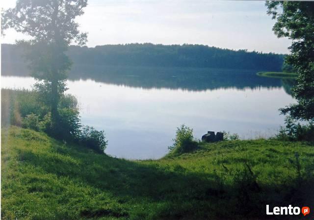 Rajski wypoczynek w zaciszu leśnym nad jeziorem Wadąg