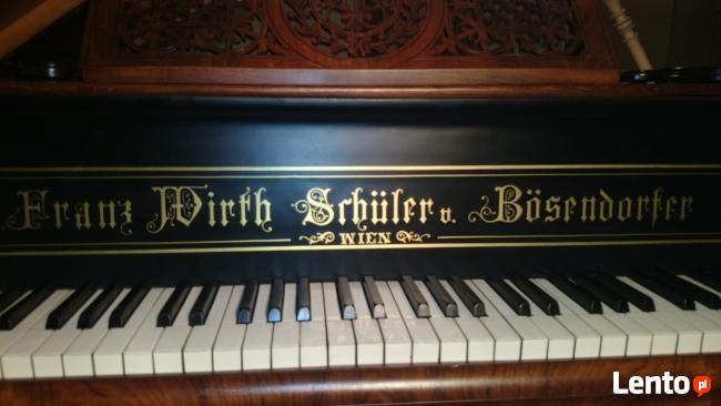 Fortepian Franz Wirth Schuler Bosendorfer-po renowacji 1894r