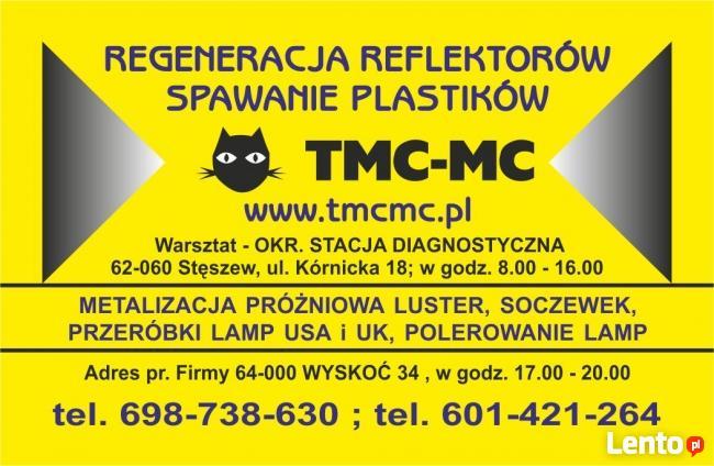 REFLEKTORY SAMOCHODOWE-NAPRAWA-METALIZACJA-PRZERÓBKA UK na E