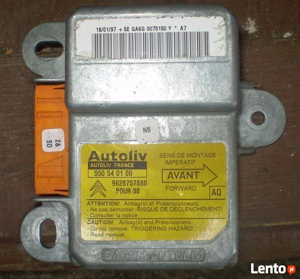 Sensor czujnik airbag Citroen Saxo