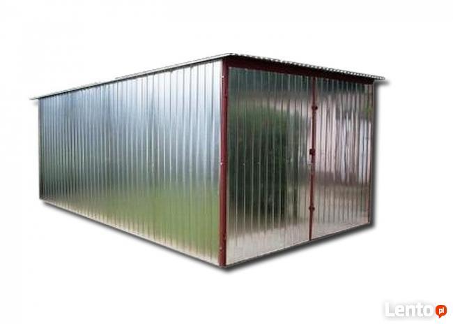 Garaż blaszany 3x5 garaże blaszaki wiaty schowki CAŁY KRAJ