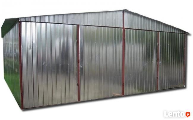 Chłodny 6x7 garaż blaszany garaże blaszane blaszaki CAŁY KRAJ Opole CP65