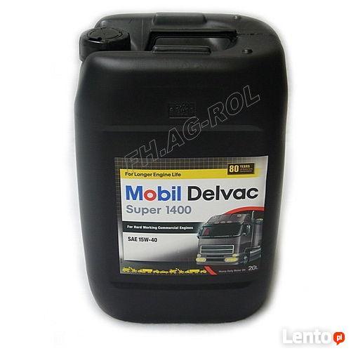Mobil Delvac Super 1400 15W-40 - 20 litrów - olej silnikowy