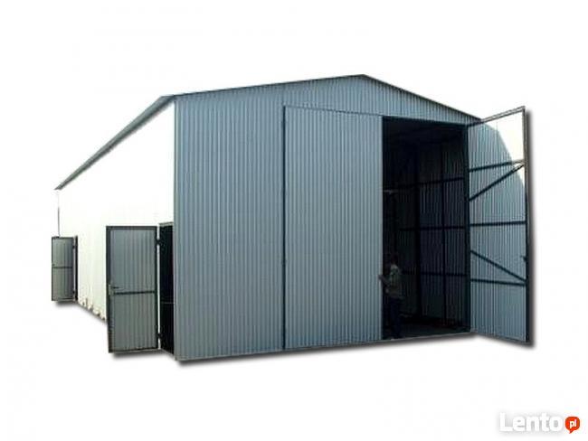 Garaż blaszany blaszak garaże blaszane br uchylna PROMOCJA