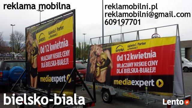 Mobile reklamowe, reklama mobilna Bielsko-Biała