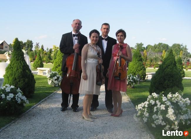 Kwartet smyczkowy Con Forza-oprawa muzyczna uroczystości