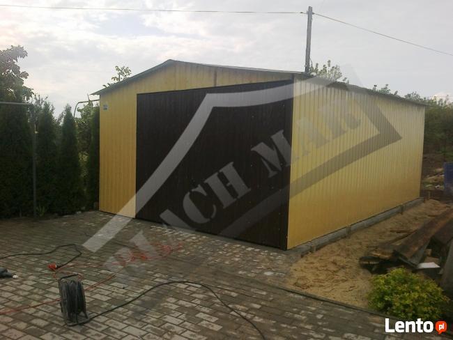 Garaż Garaże Blaszane 4x7 Kolor PRODUCENT