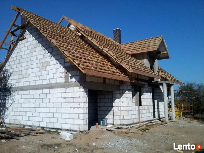 Usługi remontowo-budowlane, budowa domu, stan surowy budynku