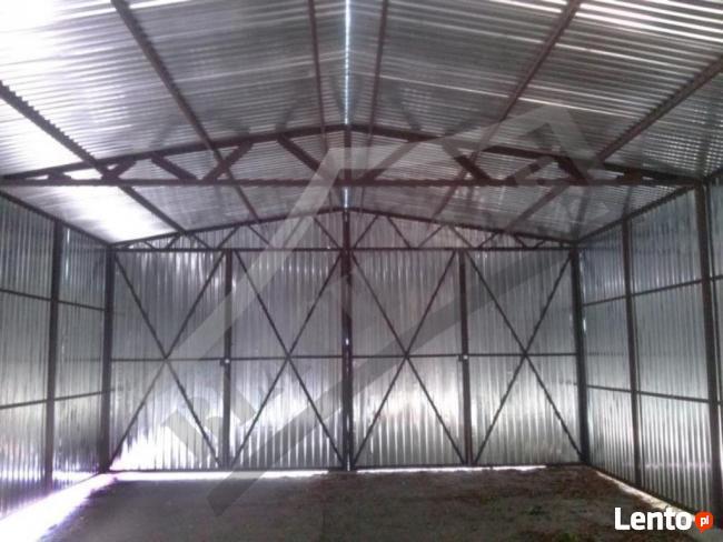 Garaż Blaszany 6x6 Dwuspadowy PRODUCENT PROFIL