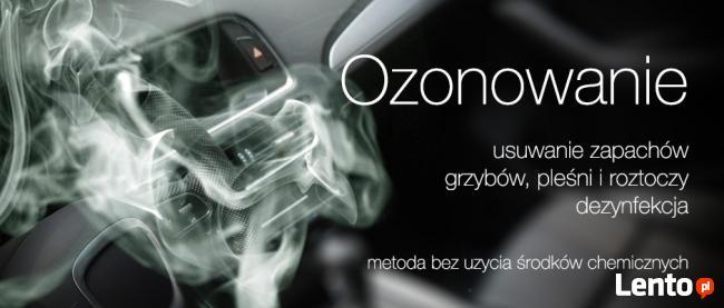 Ozonowanie samochodów - dezynfekcja chłodni