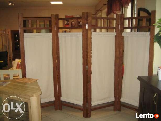 Archiwalne Parawan Drewniany 4 Skrzydlowy Tylko 600zl