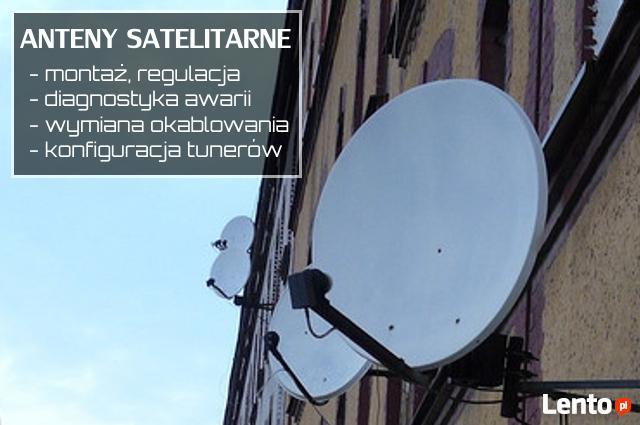 ANTENY Satelitarne i naziemne, MONTAŻ i serwis, DIAGNOSTYKA