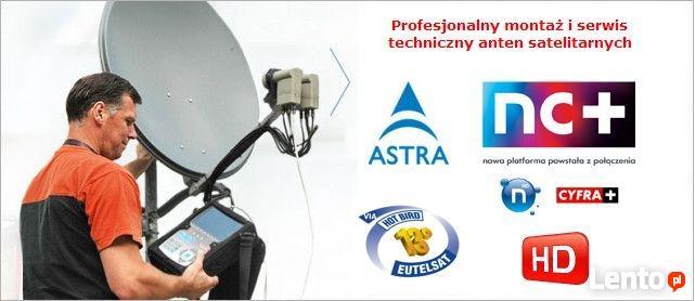 Instalacja , Montaż Anteny Satelitarnej,NC+, Polsat, multiro