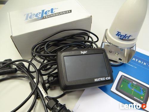 Nawigacja rolnicza GPS TeeJet MATRIX 430 RXA30 prosty system