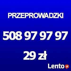 Przeprowadzki Szczecin 29zł