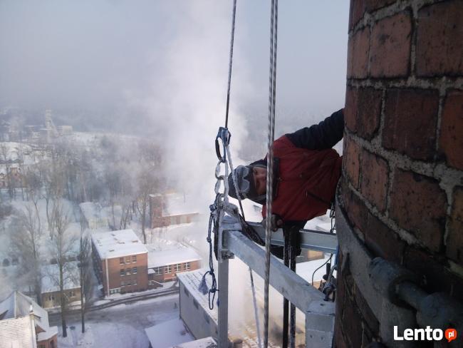 Mycie okien, Usługi alpinistyczne