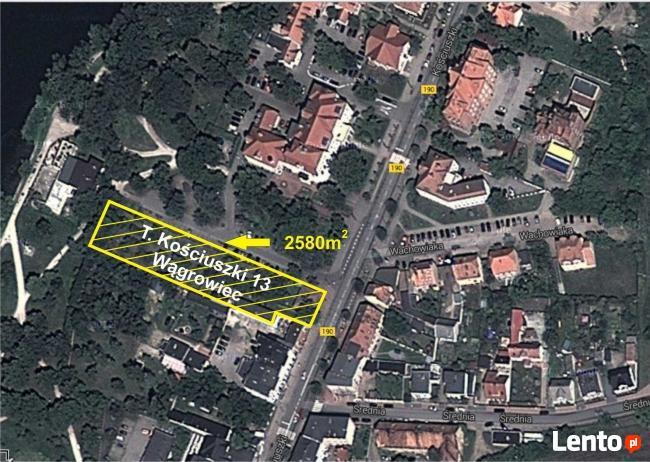 Działka z zabudowaniami w centrum Wągrowca (wielkopolska)