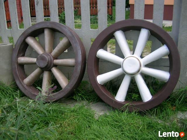 Koło drabiniaste ozdoba do ogrodu betonowe