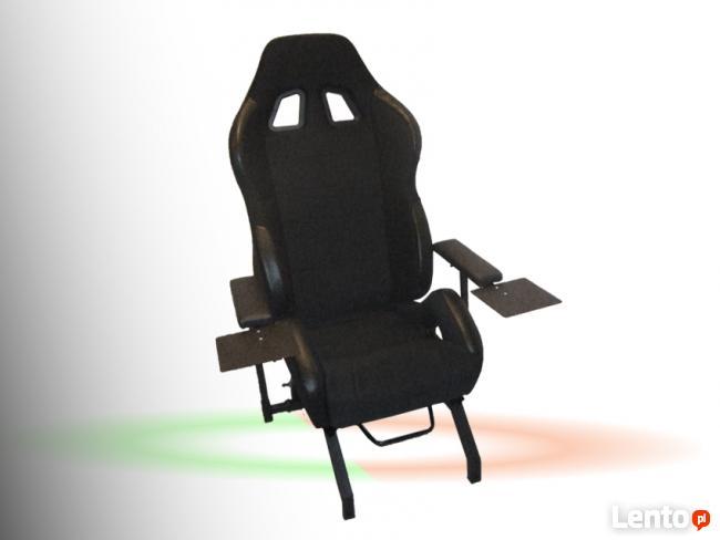 FOTEL GRACZA wyścigowego - symulator > stand do kierownic