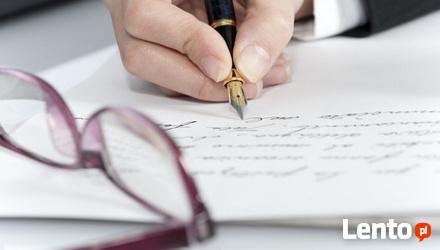 angielski, tłumaczenia zwykłe i specjalistyczne,korekty,stro