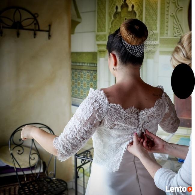 Klasyczna suknia ślubna Joni/Amy Love Bridal,