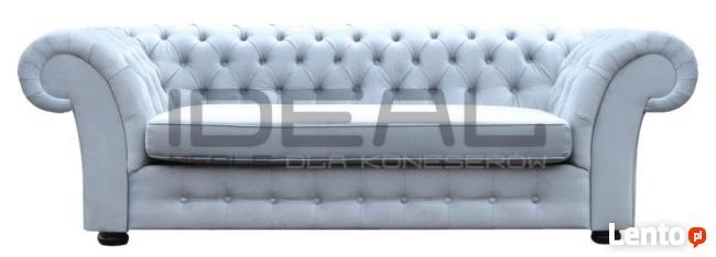 Sofa Chesterfield Diva skóra/tkanina- bonele gratis