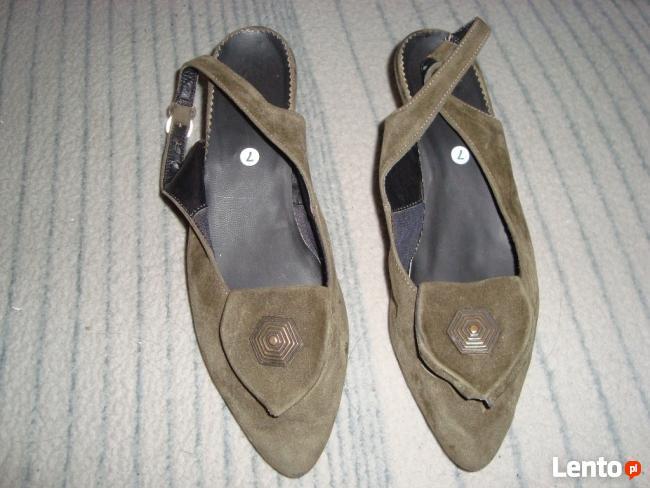Buty damskie na metalowym obcasie