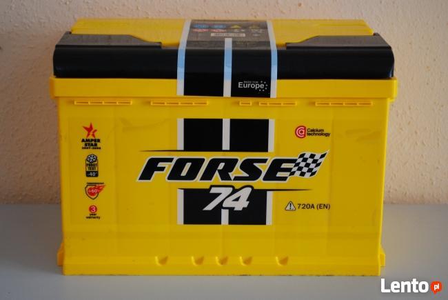 Akumulator FORSE 12V 74Ah/720A POZNAŃ
