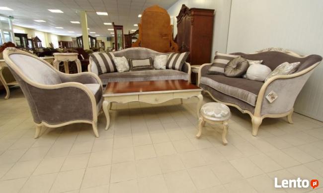 Stylowy zestaw wypoczynkowy Viviana od Jacob Furniture