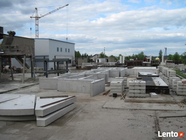 elki betonowe L i T mury oporowe