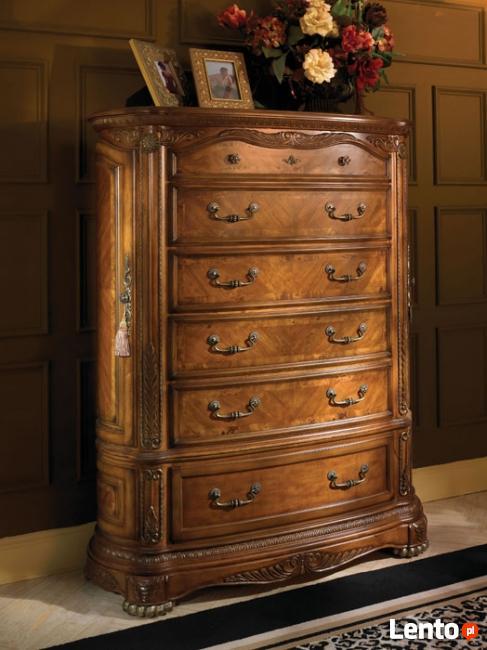 Sypialnia drewniana, stylowa Cortina Jacob Furniture