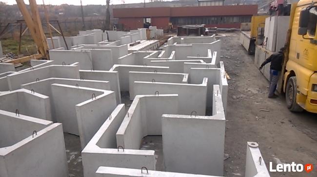 elki betonowe,ŚCIANY OPOROWE, PROMAT WOLICA
