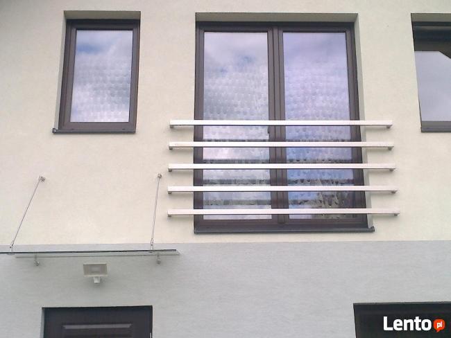 balustrada nierdzewna do własnego montażu szlif/satyna