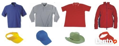 Odzież reklamowa t-shirty, koszulki polo, czapki, polary
