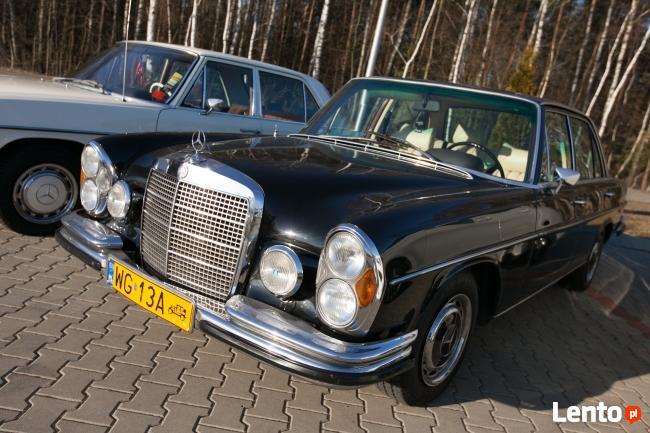 Zabytkowy Mercedes do ślubu
