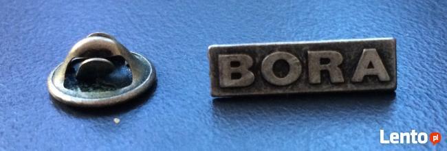 Przypinka/wpinka do klapy z logo BORA