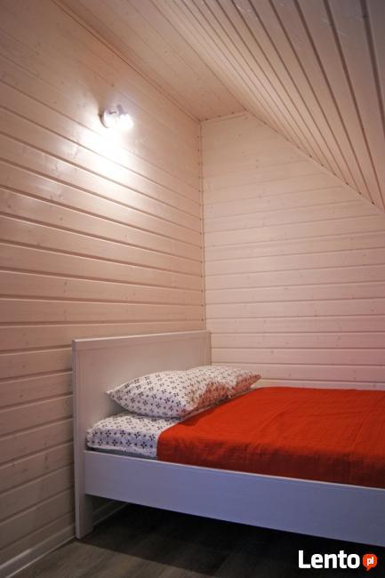 Karwia. Domki skandynawskie, pokoje i apartament Flamand