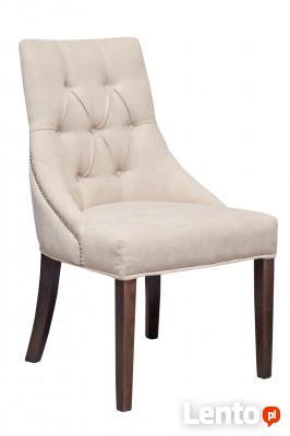 Krzesło pikowane z kołatką i pinezkami ekstawaganckie produc