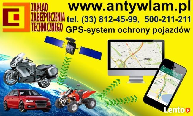 GPS. Alarmy. Zabezpieczanie pojazdów. Bielsko-Biała