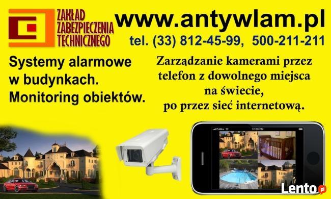 Monitoring CCTV Kamery TV Przemysłowa Bielsko-Biała