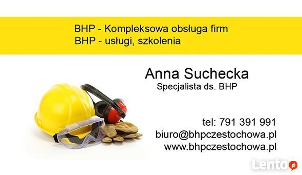 Bhp i ppoz - szkolenia, uslugi, nadzór, dokumentacja