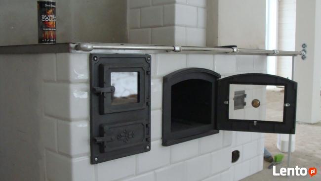 Zdun Piec Kaflowy Trzon Kuchenny Kuchnia Fajerkowa Komin
