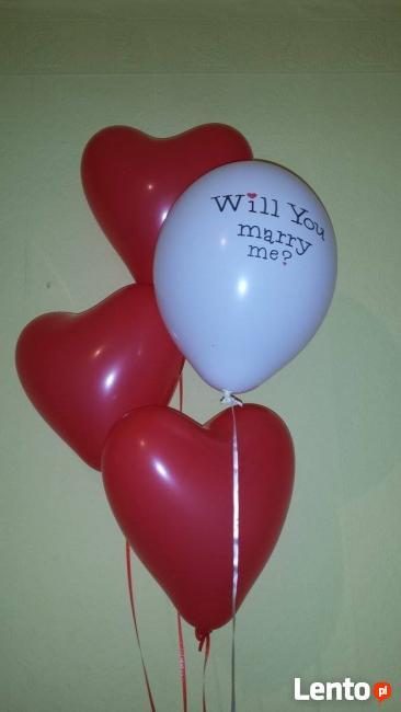 Napełnianie balonów helem Rybnik tel.883 644 900