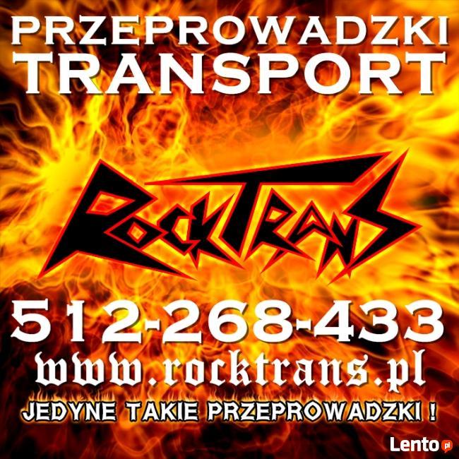 TANIE PRZEPROWADZKI TRANSPORT WARSZAWA - KONTENER WINDA BUS